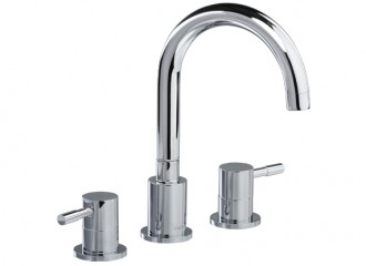 VEGANE Three hole washbasin mixer