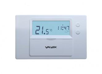 BASE Tygodniowy regulator temperatury przewodowy