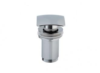SQUARE Ventil de scurgere cu sistem pop-up şi preaplin