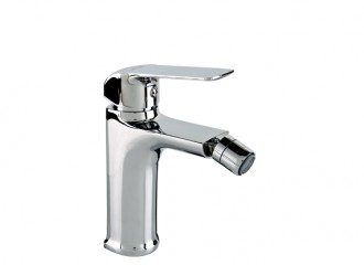 AURORA Bidet mixer with manual pop-up drain