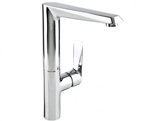 QUASAR Standing kitchen mixer with side lever