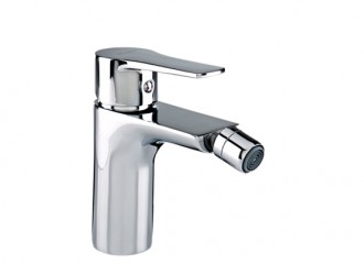 DALI Bidet mixer with manual pop-up drain