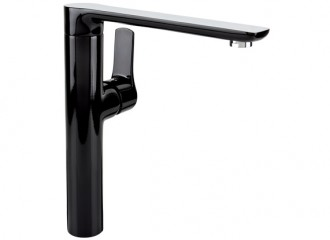 DALI BLACK Standing kitchen mixer with side lever