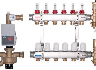 BASE Verteilungssatz, PROFF Pumpengruppe