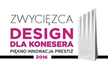 Zestaw natryskowy podtynkowy CARRÉ zwycięzcą Plebiscytu DESIGN DLA KONESERA w kategorii łazienka!