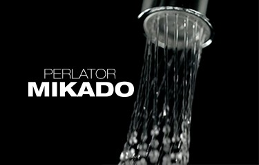 Discover the mesmerizing flow of the MIKADO mixer aerator