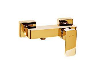 LOFT GOLD Baterie pentru duș cu montaj pe perete