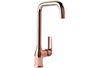 AURORA ROSE GOLD Standing kitchen mixer with side lever