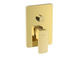 LOFT GOLD Baterie cu montaj îngropat, pentru cadă – duș