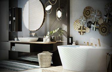 Zona pentru baie si bucatarie